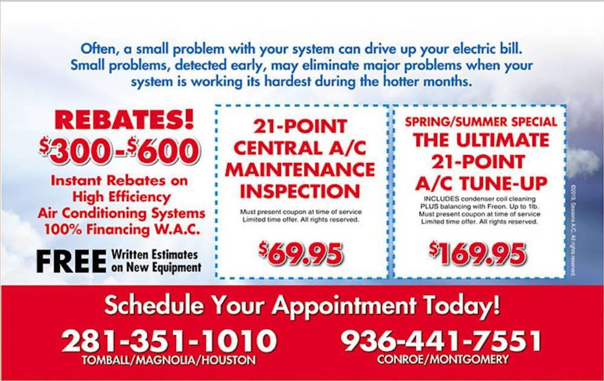 AC Repair Flyer Tomball
